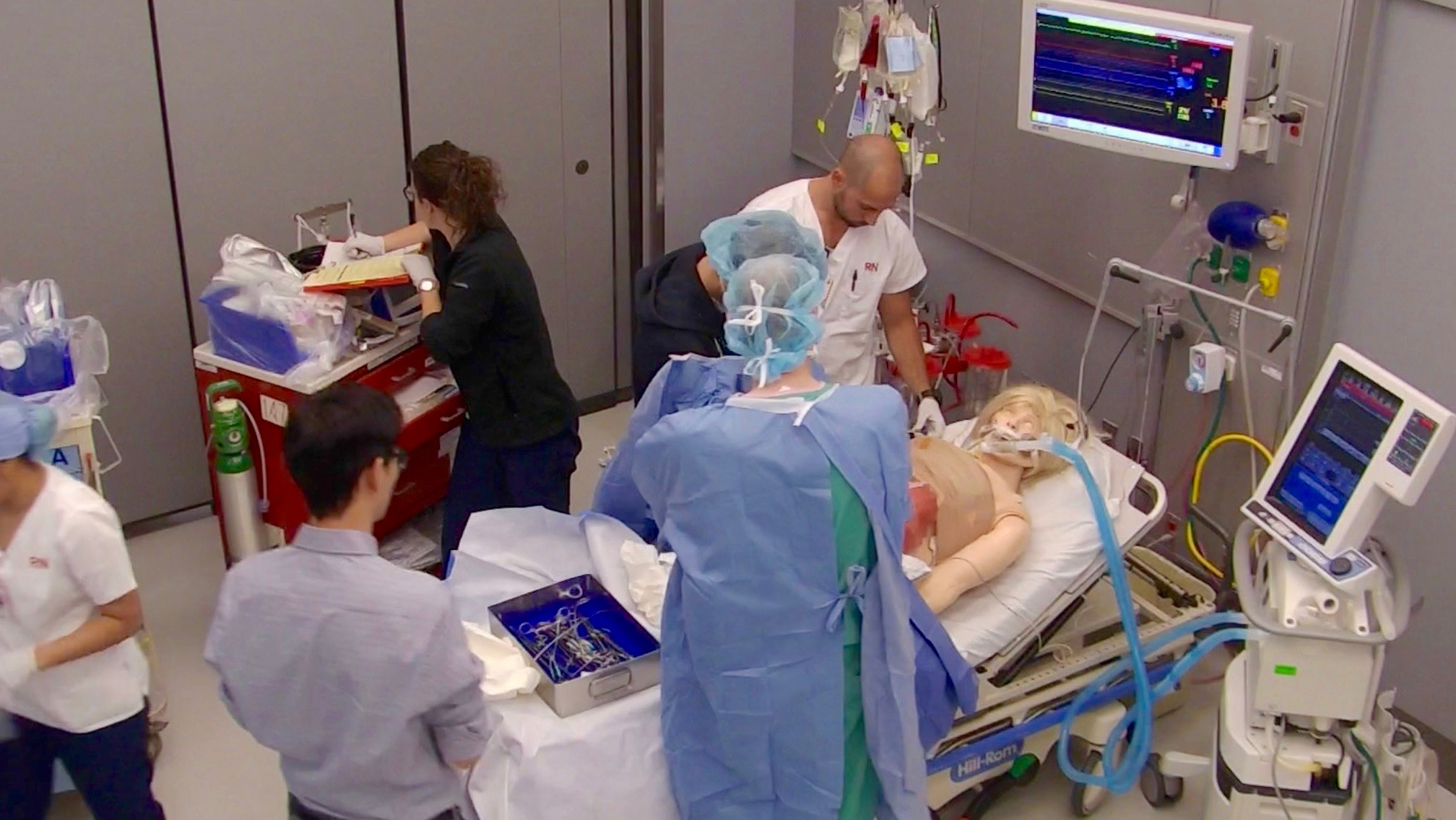 Anesthesiology Department Hosts CTICU Simulation in SAIL ...