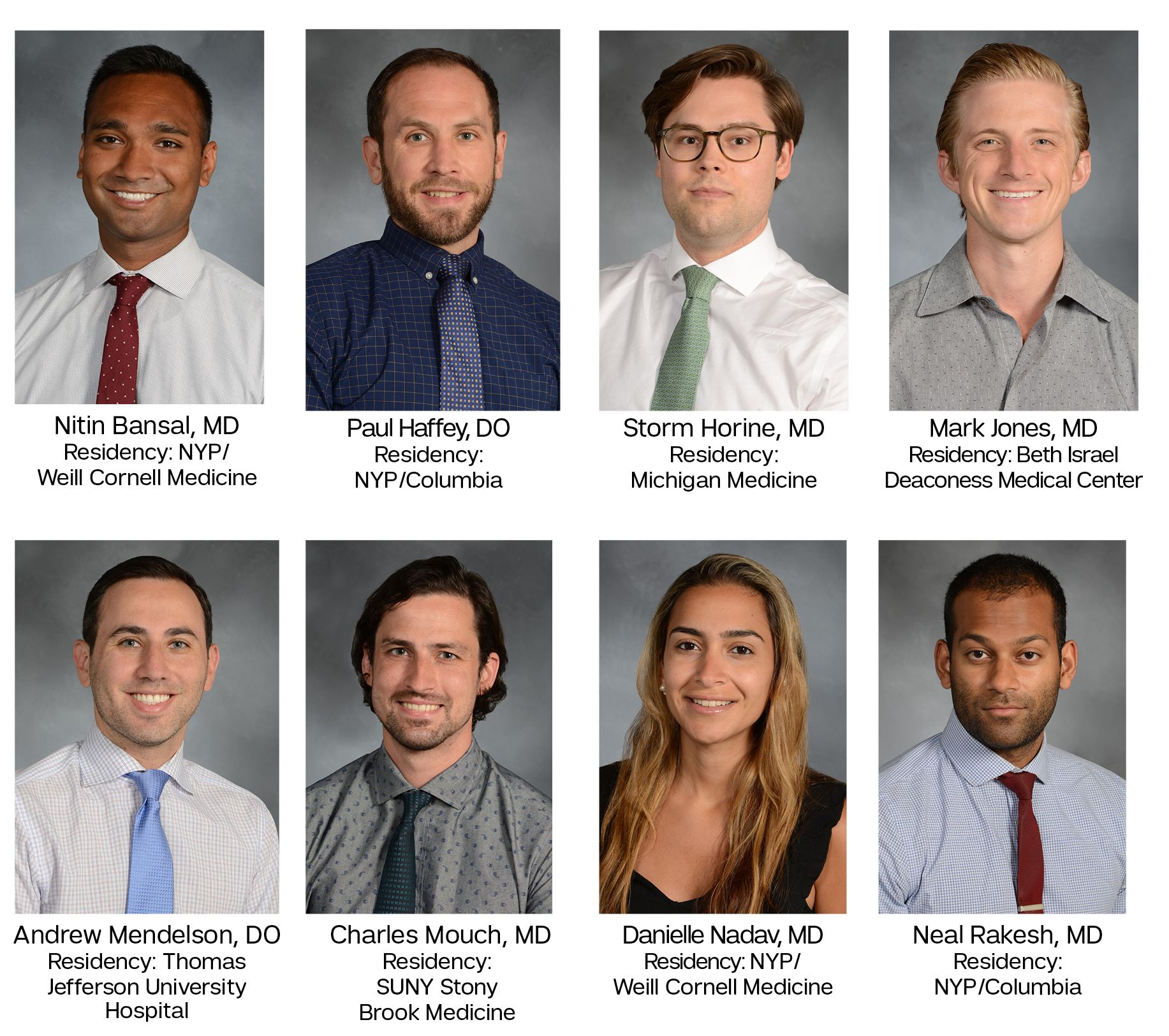 Current Pain Fellows