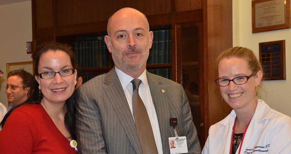 Drs. Hill, Skubas, Fitzgerald