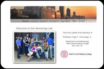 Hemmings Lab Webpage
