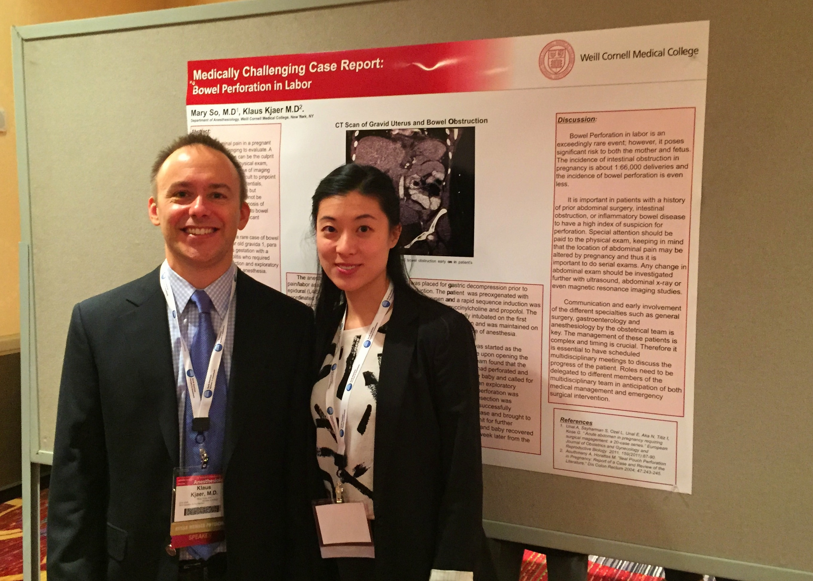 Weill Cornell Anesthesiology Faculty, Residents feature at